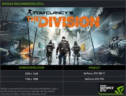 pubg 970 settings tom clancy s the division recommended gpu the geforce gtx 970