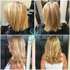 fusion extensions for fullness and length blonde hair extensions