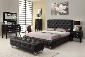 Black Furniture For Bedroom Ellegant Bedroom With Black Furniture Greenvirals Style