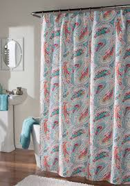 Paisley Shower Curtains M Style Perfectly Paisley Shower Curtain Belk