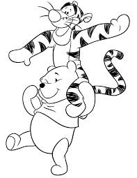 pooh bear coloring pages coloring