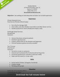 top 10 resume exles internship resume exles top 10 resume objective exles and