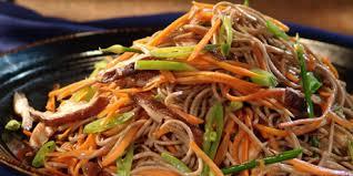 noodle salad recipes soba noodle salad recipes food network canada