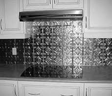 Tin Ceilings By The Tinman  Chelsea Decorative Metal Company - Tin ceiling backsplash