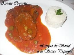 cuisine langue de boeuf recette de langue de boeuf sauce piquante par assiettecoquette
