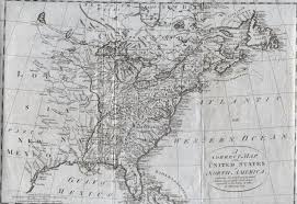 13 Colonies Map Blank by 1785 To 1789 Pennsylvania Maps