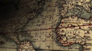 Vintage Maps Old World Vintage Maps Stock Footage Youtube