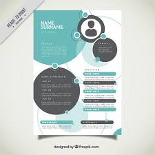 graphic resume templates graphic designer resume template vector free templates 1 35