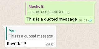 whatsapp 2 16 118 beta adds message quotes and replies