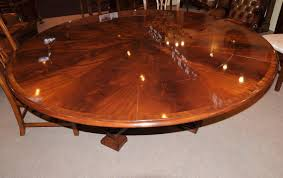 brilliant decoration round expandable dining table lofty design