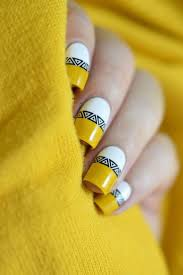 95 best yellow nails images on pinterest yellow nail art art