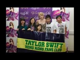 taylor swift fan club taylor swift hk fan club we met taylor youtube