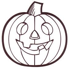 halloween pumpkin coloring pages blank pumpkin coloring page free