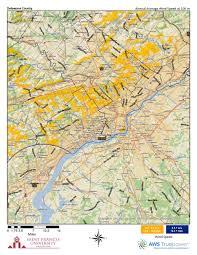 Delaware Zip Code Map by Pennsylvania Wind Maps St Francis University