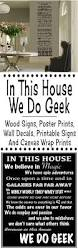 in this house we do geek signs and wall decals glitter u0027n spice