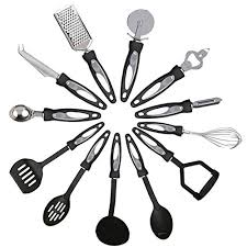 ustensil de cuisine kabalo 12 pièces en acier inoxydable de cuisine ustensile de