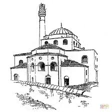 hagia sophia mosque coloring free printable coloring pages