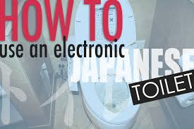 How To Use A Bidet For Men How To Use An Electronic Japanese Toilet Surviving In Japan