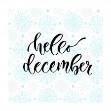 imagenes hola diciembre letras de vectores dibujados a mano hola diciembre caligrafía