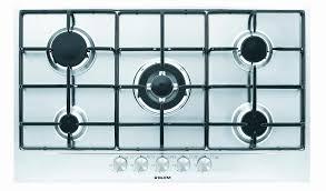 glem piani cottura valvola gas cucina bellissimo gt955ix piano cottura 90 cm cottura