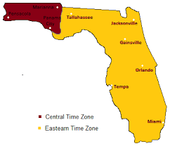 usa time zone map est florida time zones timebie