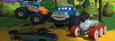 bigfoot the monster truck videos meteor and the mighty monster trucks qubo qubo is the nation u0027s
