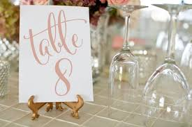 gold wedding table numbers rose gold wedding table numbers 1 50 printable wedding table