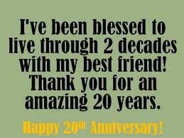 20 year wedding anniversary happy anniversary messages to my husband you my