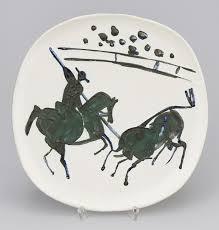 pablo picasso picador et taureau picador and bull 1953
