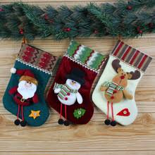 Christmas Stocking Decorations Compare Prices On White Christmas Stockings Wholesale Online