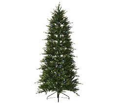 ed on air santa s best 6 5 spruce tree by degeneres