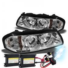 04 impala led tail lights hid xenon 00 04 chevy impala angel eye halo led projector