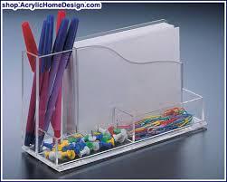Acrylic Desk Organizers Acrylic Desk Organizer With 4x6 Memo Holder 20 00