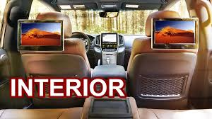 Toyota Land Cruiser Interior 2016 Toyota Land Cruiser Interior Youtube