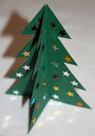 craft and activities for all ages make a 3d card christmas tree