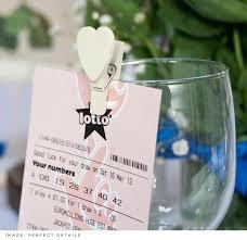 lottery ticket wedding favors top ten wedding favors inexpensive wedding favors top 10 wedding