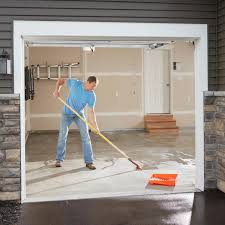 Garage Floor Snow Containment by Garage Flooring Options Family Handyman