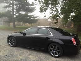 chrysler 300c black picked up 2012 srt8 wheels in black chrome chrysler 300c forum