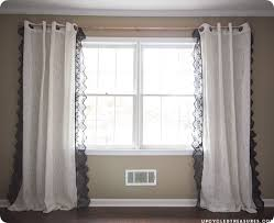 Lace Trim Curtains Anthropologie S Curtains But Not Their Prices Check Out This