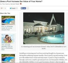 how much value does a pool add to your home ehow pondering nj pool construction the lowdown on pools and home value