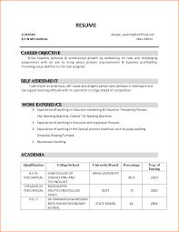 resume career goals resume