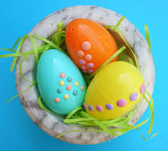 Easter Egg Decorations Easy Diy Decorate Easter Eggs With Stickers