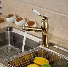 levier cuisine or poli singel levier cuisine un trou mitigeur mitigeur robinet