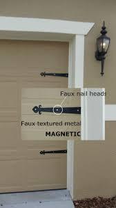 Decorative Garage Door Garage Doors Garage Door Decorative Hardware Southwest Style Kit
