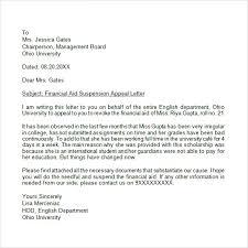 letters appeal letter sample letter of appeal sample for college
