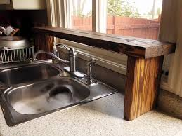 kitchen cabinets made out of pallet wood pallet wood the sink window shelf kitchen update 5