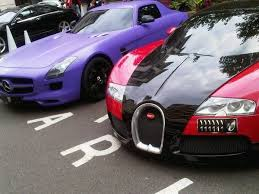 what does amg mercedes bugatti veyron and mercedes sls amg at the dorchester