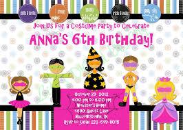 halloween birthday invitations costume party invitation pink