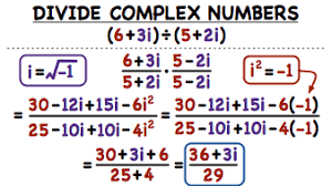 how do you divide complex numbers using conjugates virtual nerd