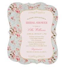 vintage bridal shower invitations bridal shower invitation vintage garden party zazzle
